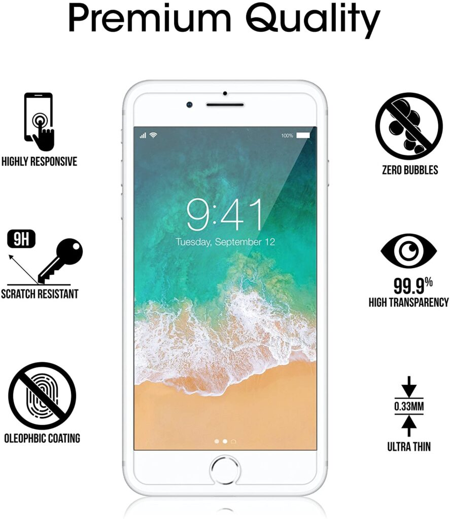 amFilm screen protector all features
