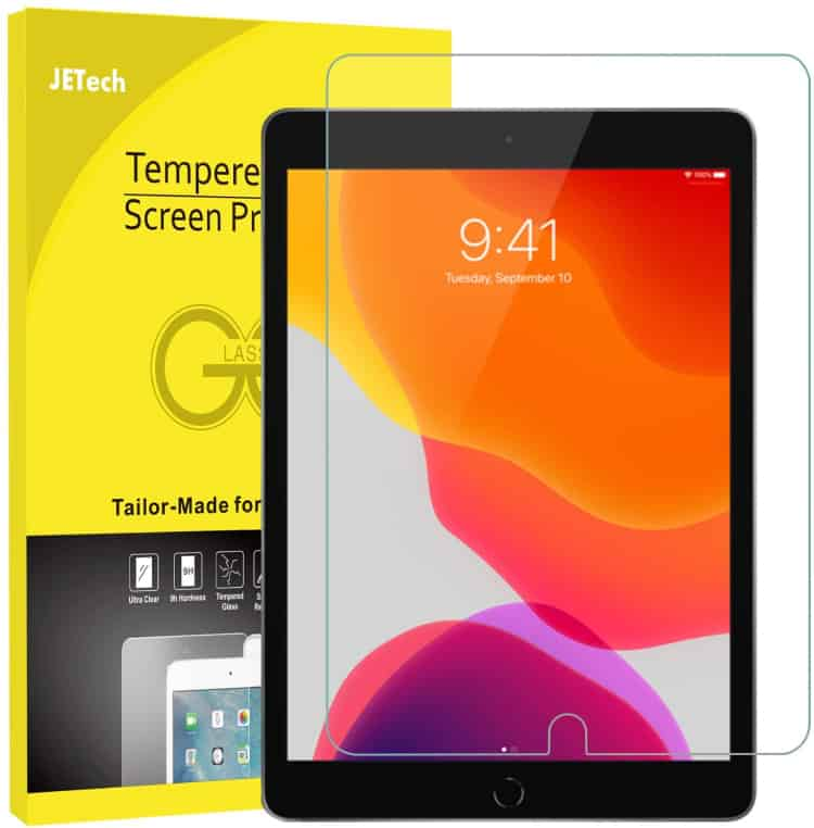 JETech Screen Protector for iPad 10.2 2019 (7th Gen)