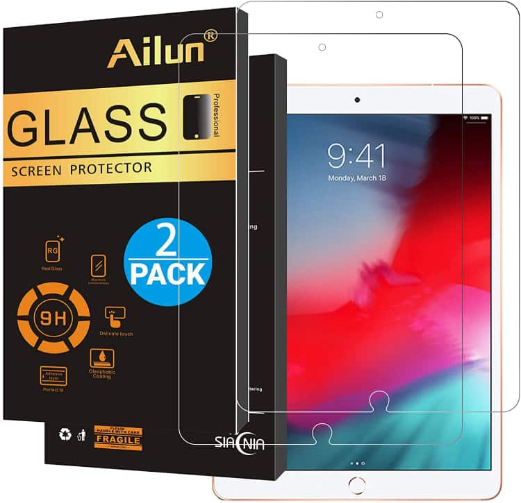 Ailun Tempered Glass for iPad Air 3