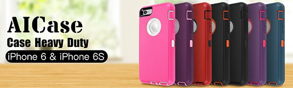 AICASE For iPhone 6 360 cover