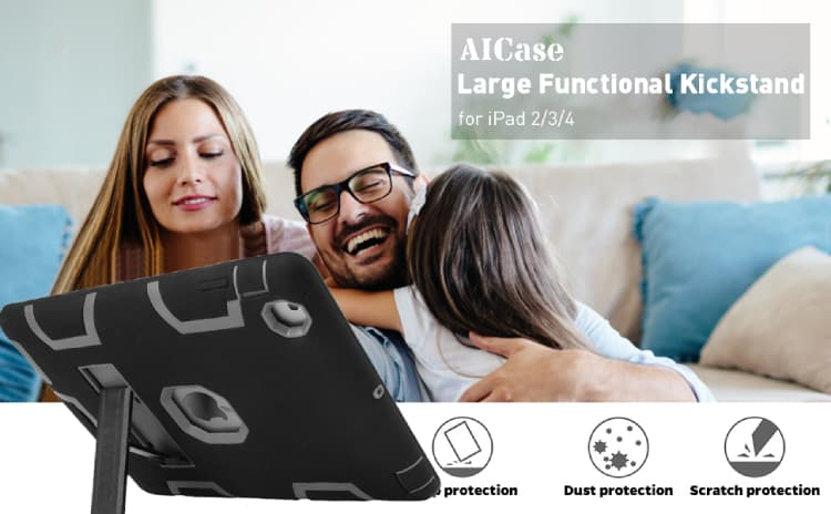 AICASE FOR iPad 2/3/4 360 COVER