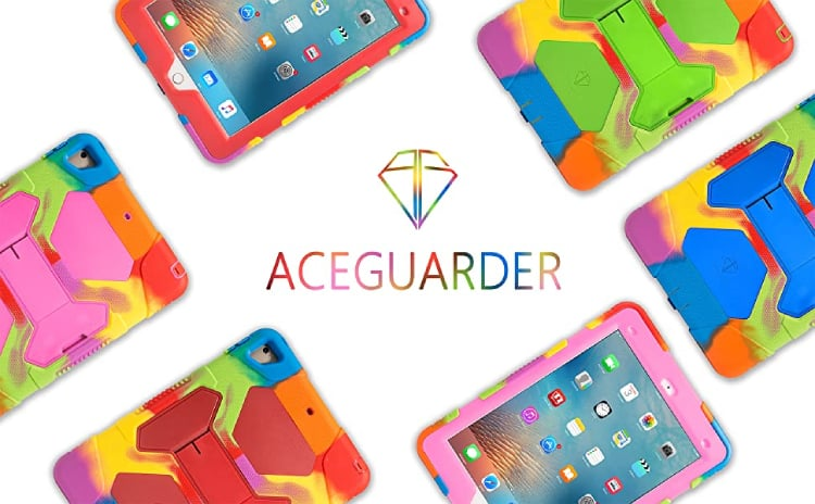 ACEGUARDER for iPad 5th Generation 360 Case
