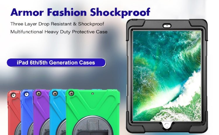 TSQ for iPad 5th generation 360 Cover