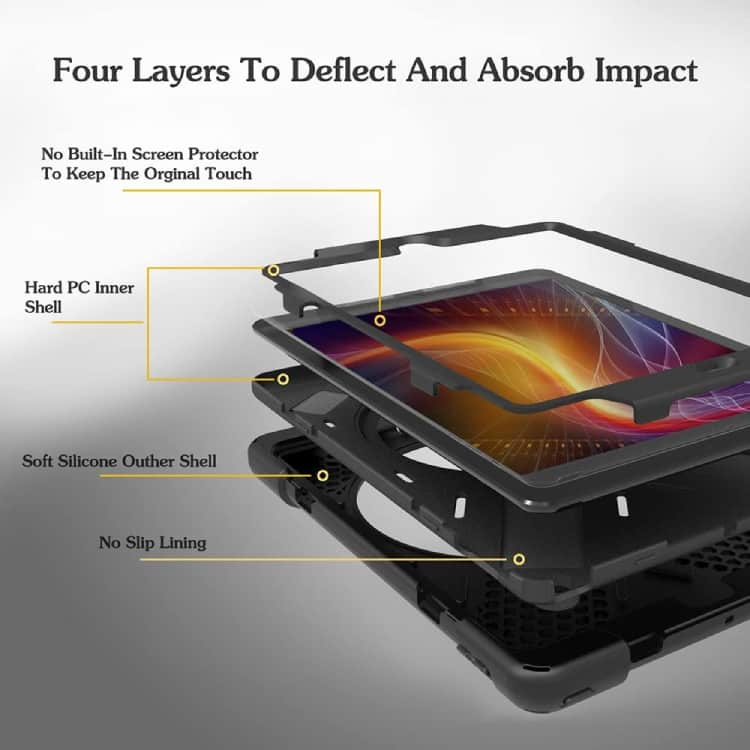 ZenRich For iPad 5th 6th Generation 360 Case