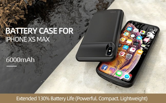 NEWDERY iPhone Xs Max Battery Case
