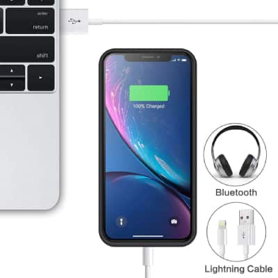 iPosible iPhone XR Charging Case