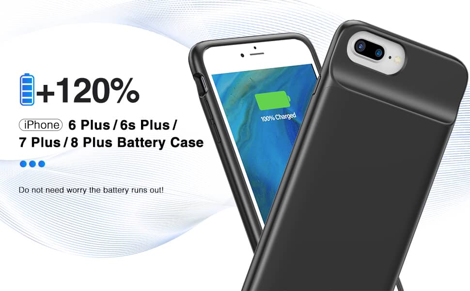 iPhone 7 Plus Battery/Charging Case/Cover