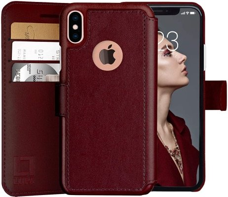 Lupa iPhone XS Wallet Case/Cover