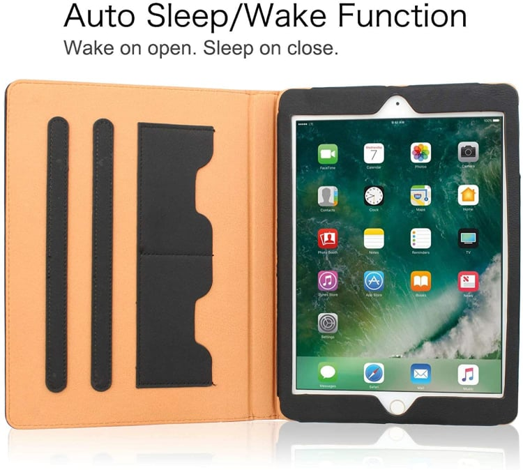 S-Tech for iPad 4th generation Wallet Case