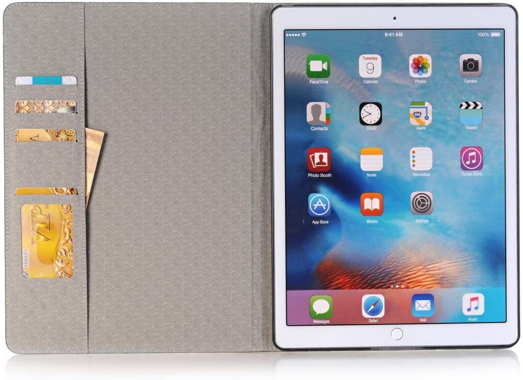 iPad Pro 12.9 inch Wallet Case/Cover 2015 and 2017