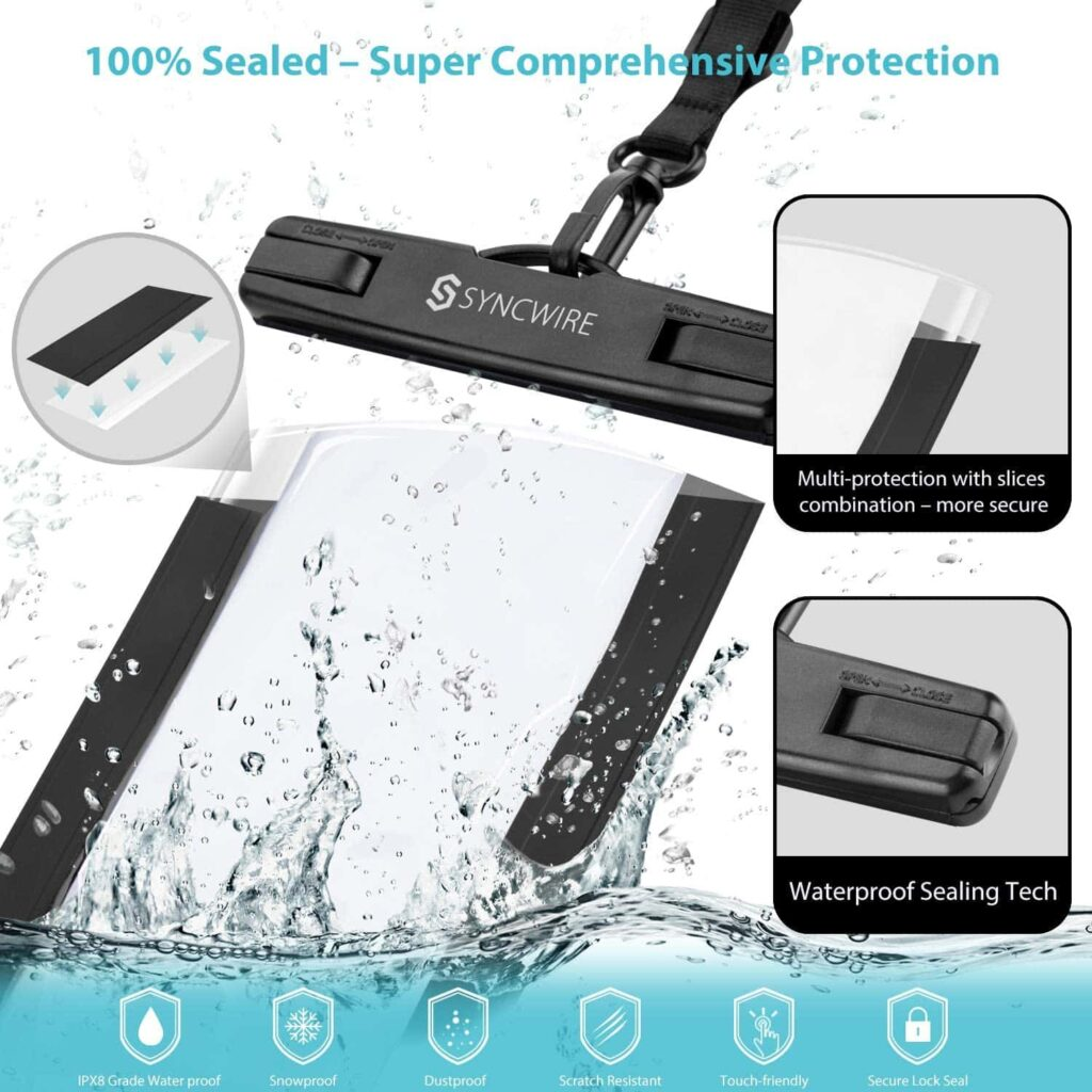 Syncwire Waterproof Phone Pouch