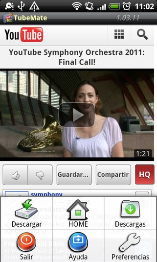 save YouTube Videos on Android