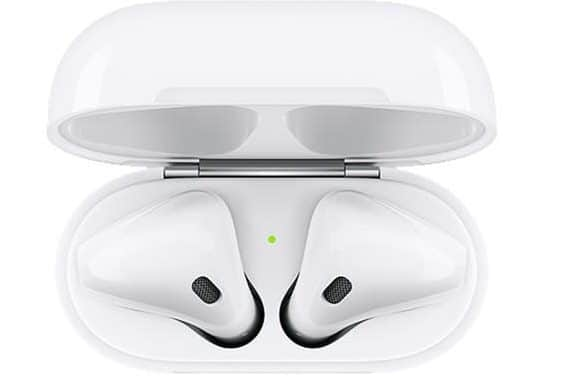 AirPods Top View