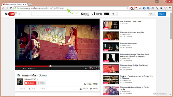 download/save youtube video
