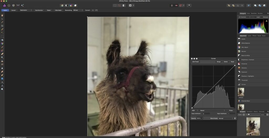 Affinity Photo- Best Photo Editing Apps for your Mac
