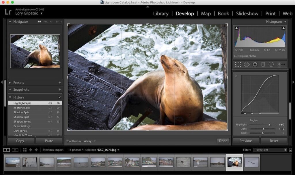 Lightroom- Best Photo Editing Apps for your Mac