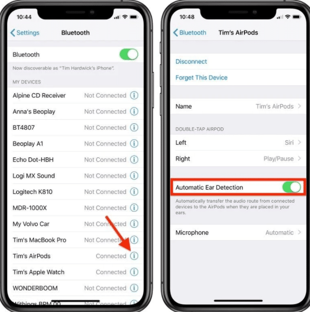 Troubleshoot AirPods