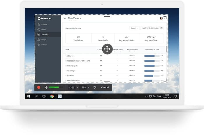 Free Screen Recorder for windows