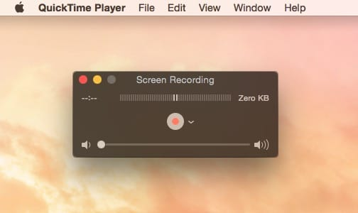 Free Screen Recorder QuickTime