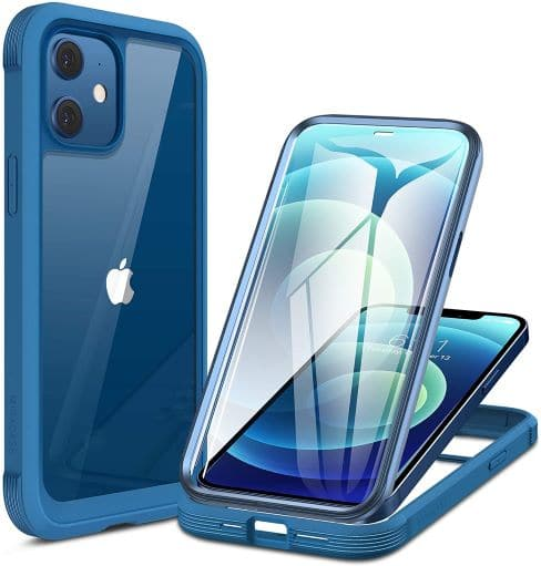 Miracase Glass+ Case for iPhone 12 Mini