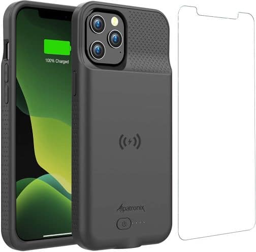 6000mAh Battery Cover with Wireless Charging