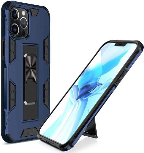 HIDAHE  Compatible with iPhone 12 Pro Max Case with Kickstand
