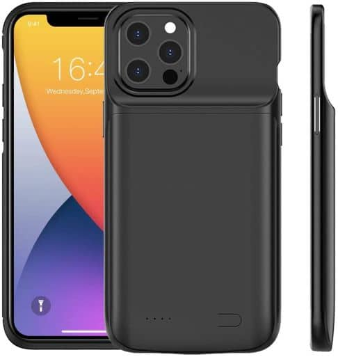 Idealforce Battery Charging Case for iPhone 12 Pro Max battery case