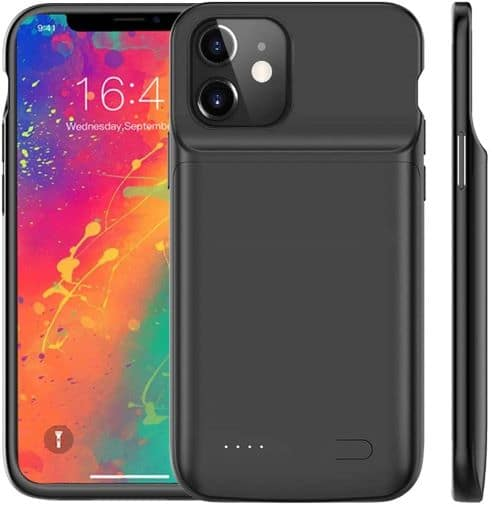 Idealforce Battery Charging Case for iPhone 12 Mini