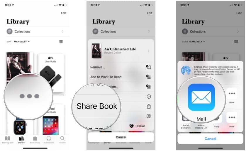 share a link to a book