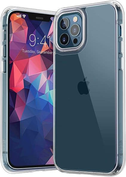 YOUMAKER iPhone 12 Pro Clear Case