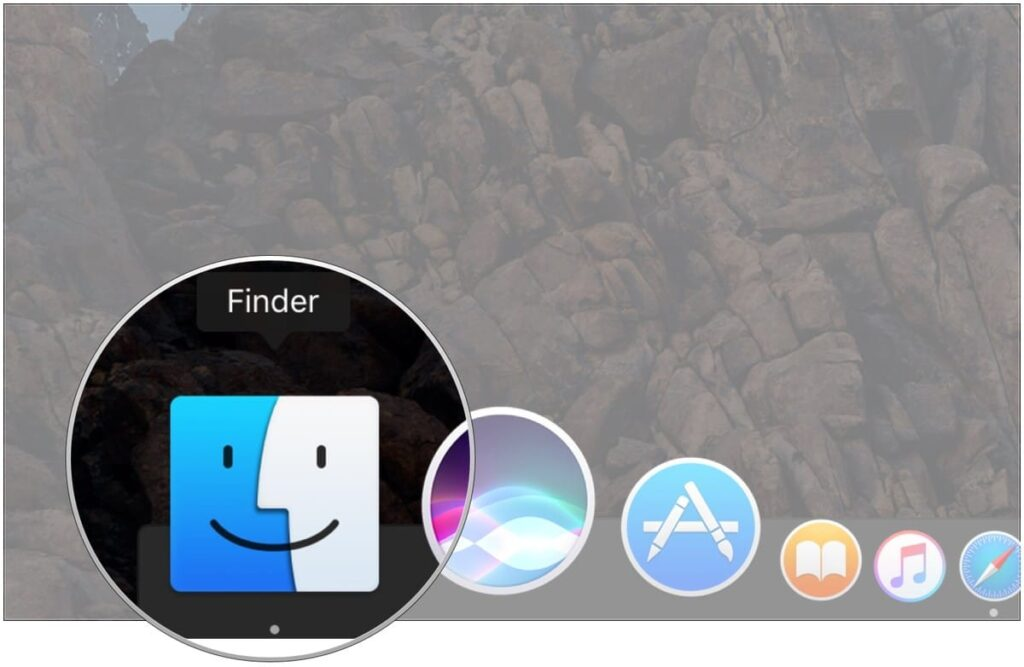 How to open a Finder window?