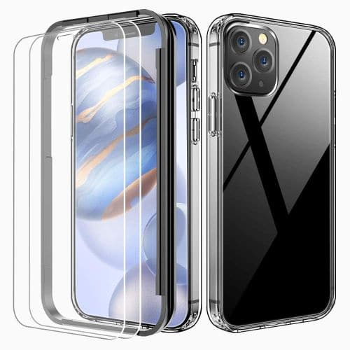 FLOVEME Crystal Clear Compatible with iPhone 12 Pro Case
