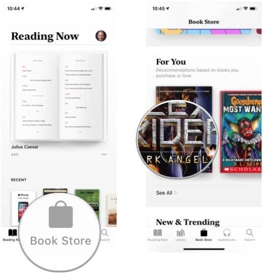 use the Want to Read Collection in Apple Books