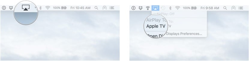 Airplay Mirroring/send video to Apple TV