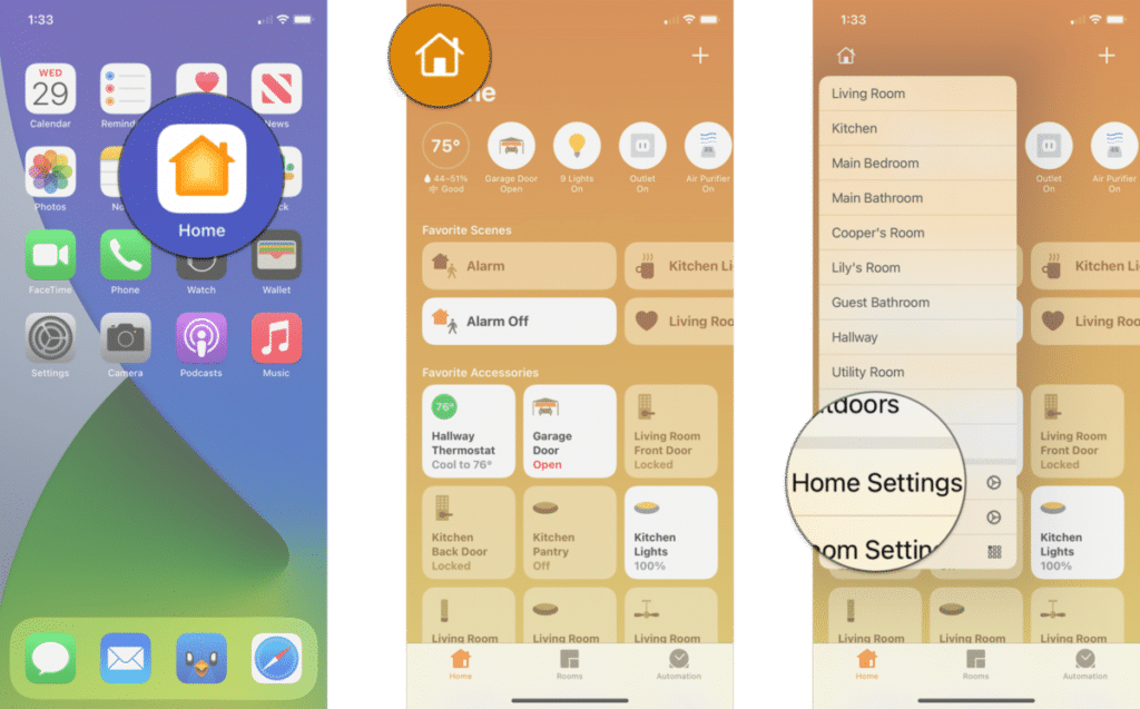 adjust notifications for your HomeKit accessories in iOS and iPadOS 14