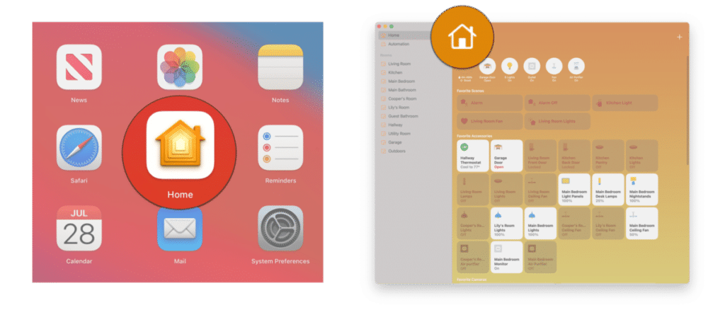 invite people to your HomeKit home on macOS Big Sur