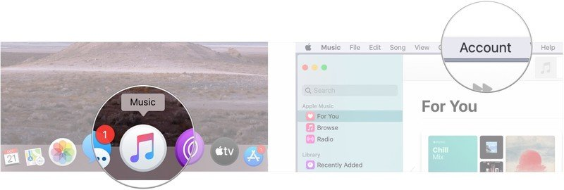 Switch to a Family Plan for Apple Music on your Mac- manage your Apple Music subscription