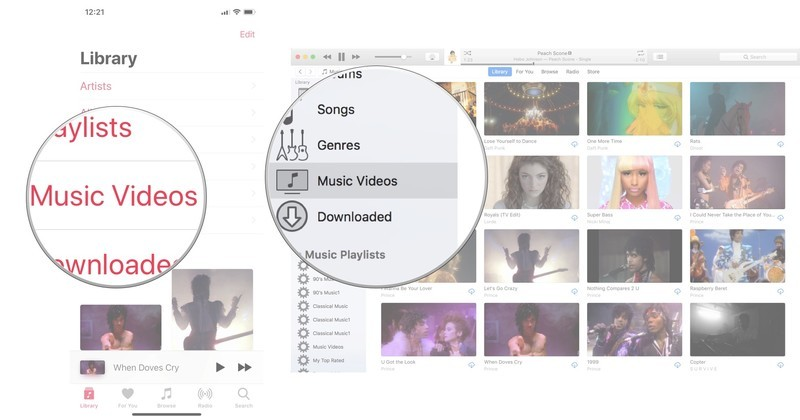 Library in Apple Music