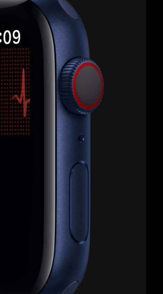 Apple Watch Series 6 with ECG Applications