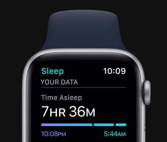 Apple Watch Series 6 with Sleep Feature