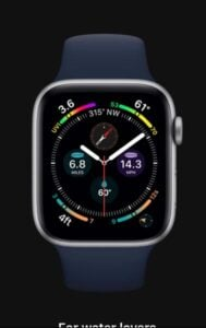 Apple Watch Series 6 for Water Lover
