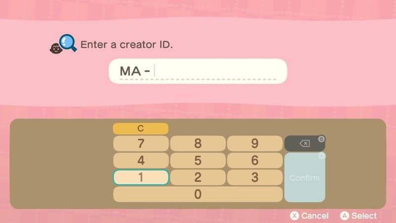 Animal Crossing: Enter the ID