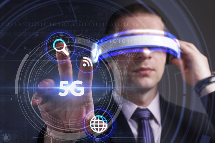 Augmented reality 5g Network