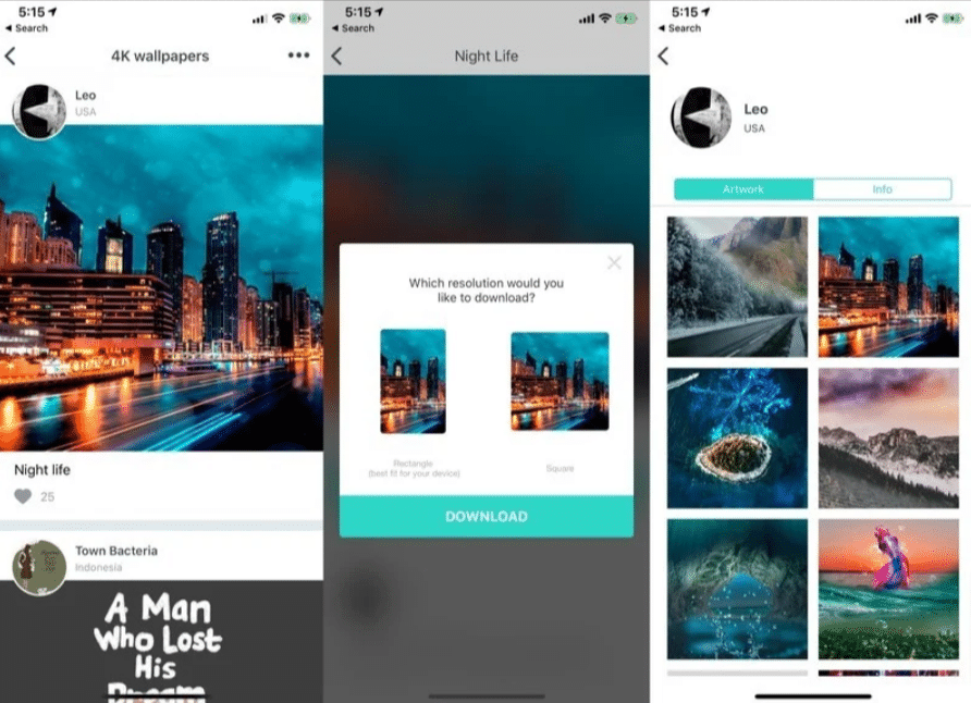 wallpaper apps for iPhone and iPad