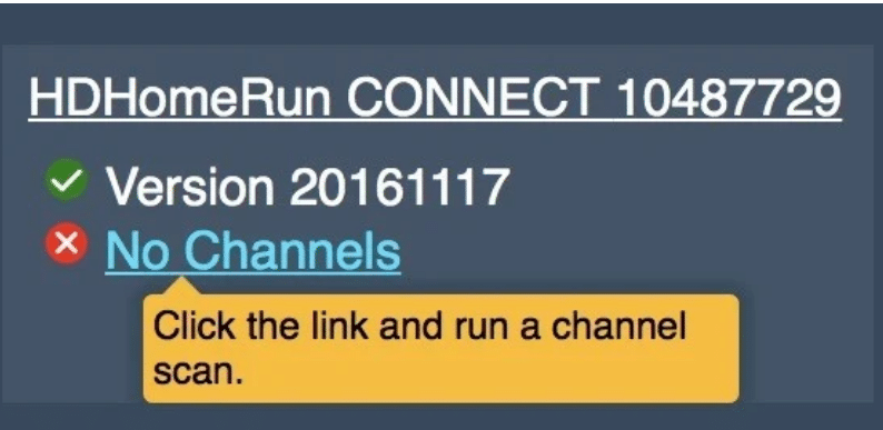 watch live Tv on Apple Tv with HDHomeRun