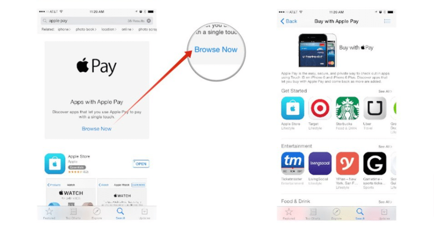 search the App Store by category
