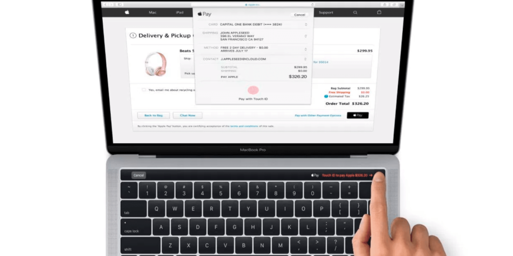 Use Apple Pay on the Web on your Mac