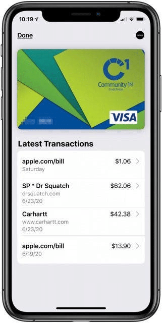 Manage Apple Pay on your iPhone