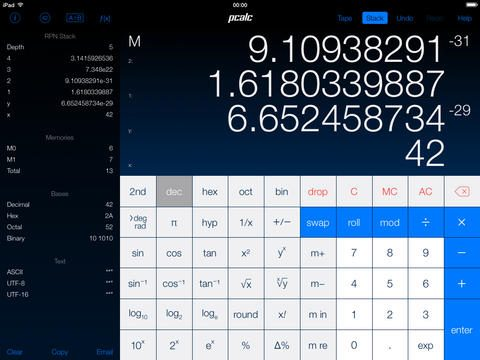PCalc- Touch Bar apps for MacBook Pro