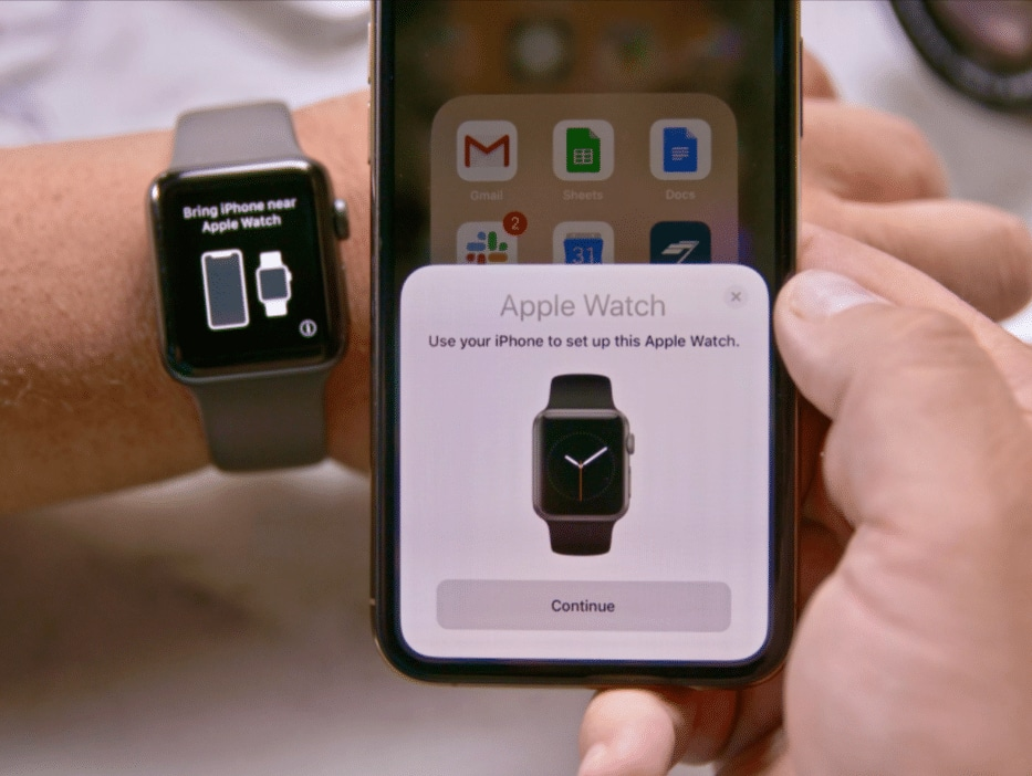 Transfer Apple Watch to new iPhone